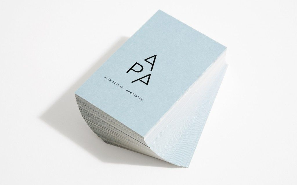 Alex Poulsen Architects - Business Card Design Inspiration | Card ...