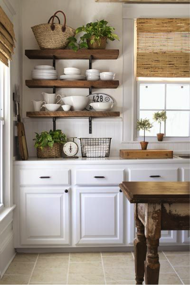 Give a dated kitchen a new fresh look
