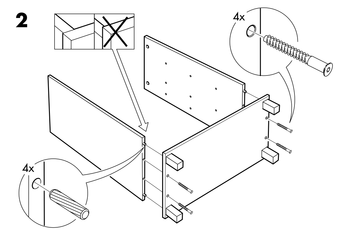 Image For Ikea Furniture Assembly Instructions