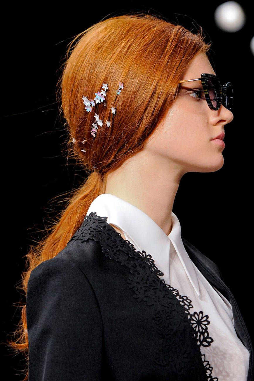 The Spring 2014 Hair Trend Report: Flowers in the Hair