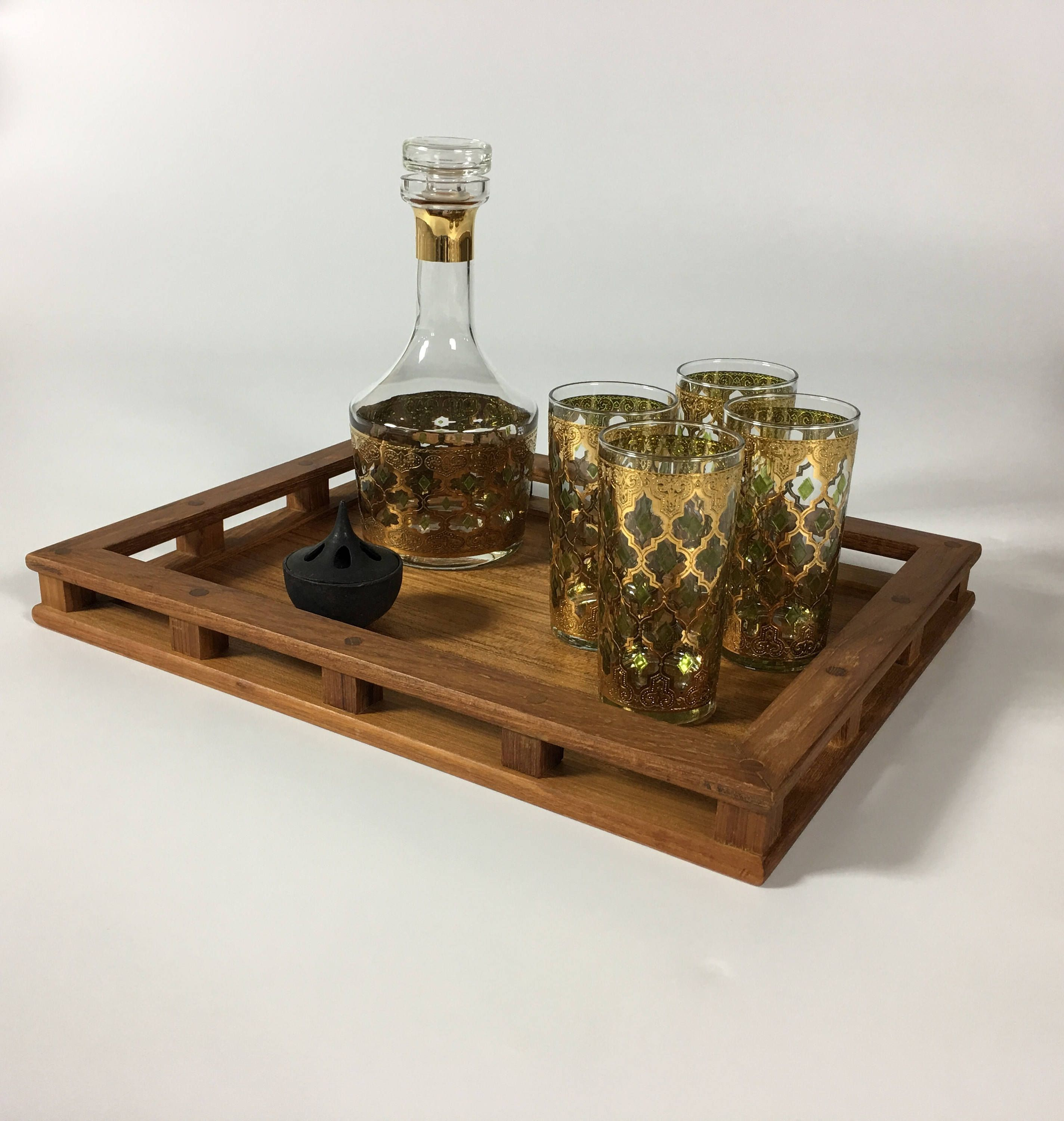 table tray for perfect decor trays decorative astounding coffee