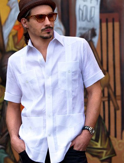 NEW MAXIMOS BOYS GUAYABERA BUTTON-UP CUBAN MEXICAN BEACH WEDDING SHIRT L BLUE
