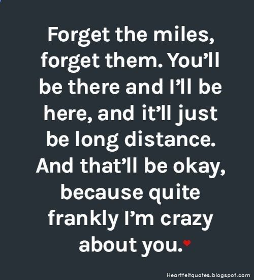 Long distance relationship love quotes  #LongDistance Men pull away