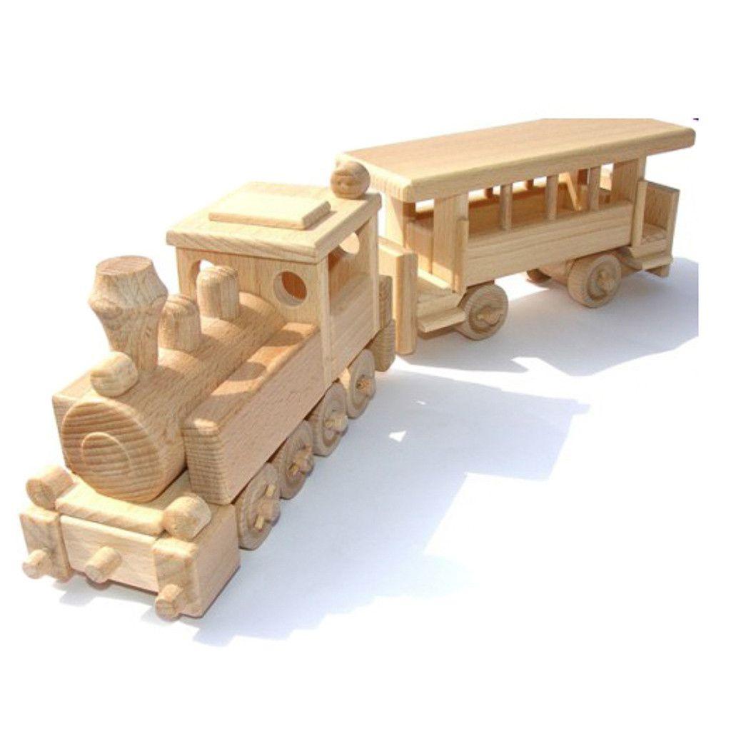 Wooden Steam Train Children S Toy Nicholas Building
