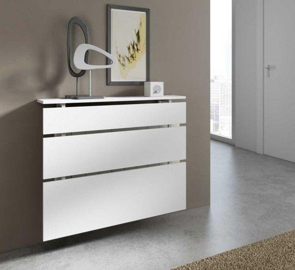 Cubreradiador lucern entrada emoble online for Muebles para cubrir radiadores