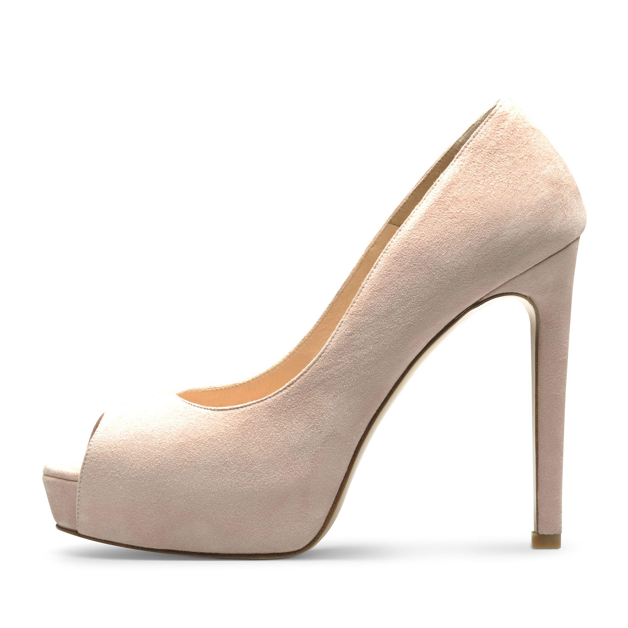 Beppina Altrosa Schuhe Damen Damenschuhe Pumps