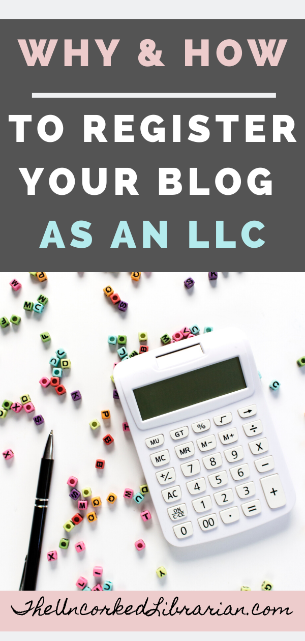 should i register my blog as a business llc for bloggers
