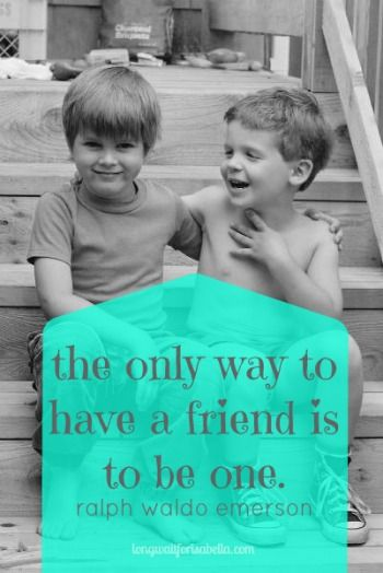 Image result for a child only needs one friend