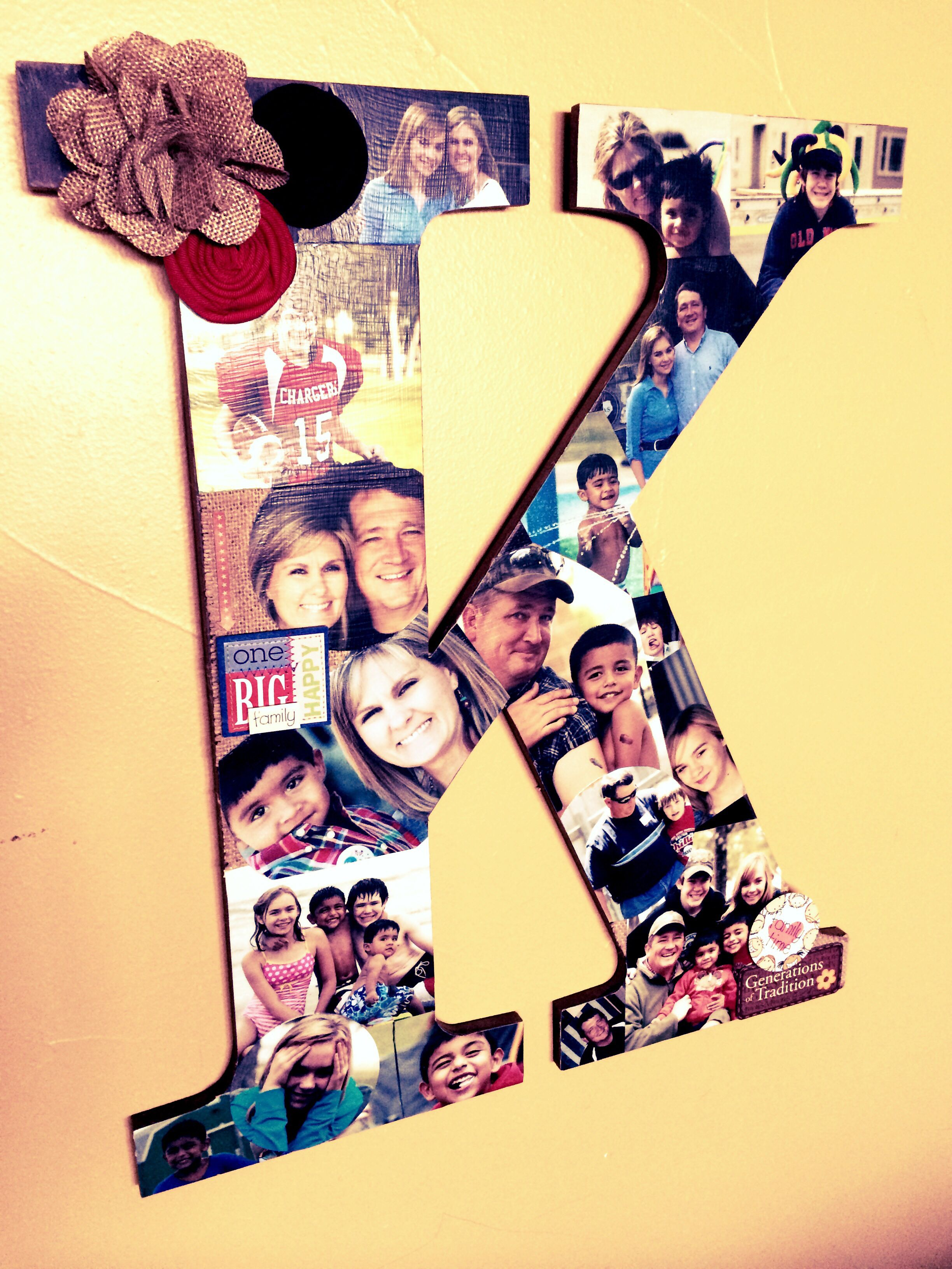 Wooden letter picture collage. Walgreens app the best for fast ...