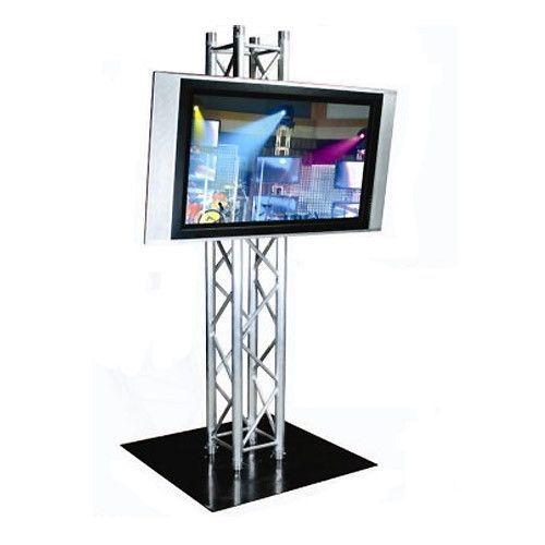 Nice Plasma TV Stand   7u0027H Truss Stand   42 55