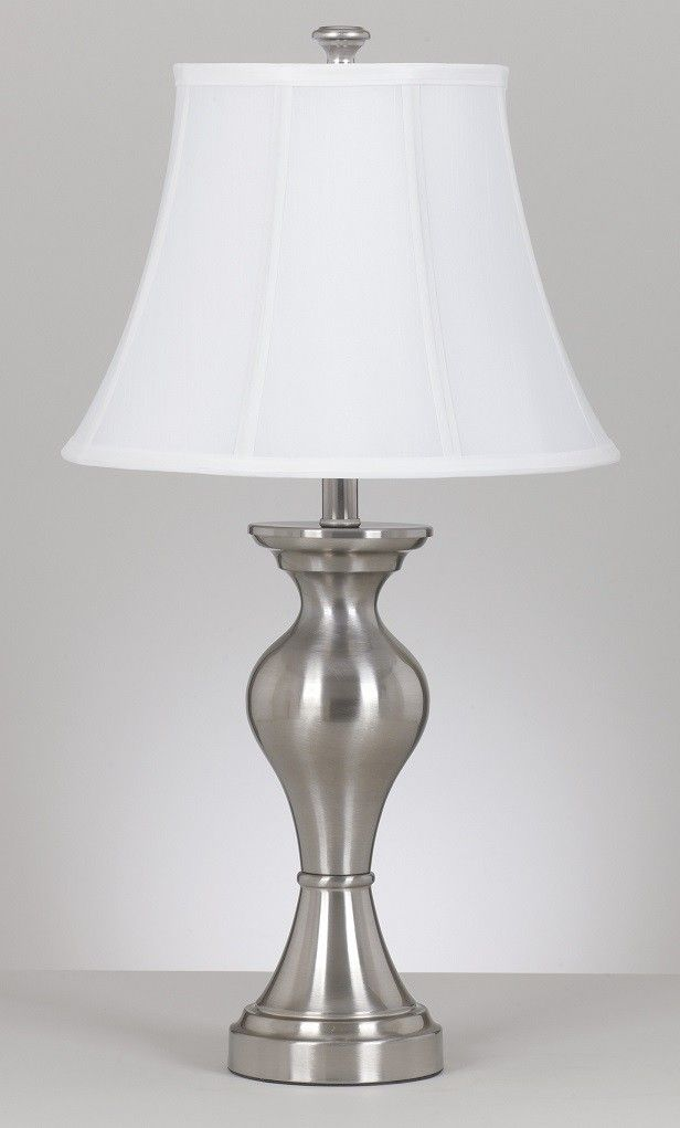 Beautiful Silver Table Lamps Living Room Design Table Lamps