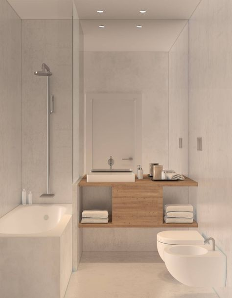 Baños minimalistas de \u0027TIL the end studio banys Pinterest Baño