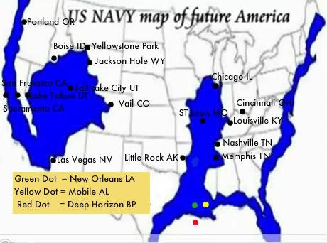 UPDATE Planet X Nibiru The Navy Knows About The Coming Pole - Map of us after pole shift
