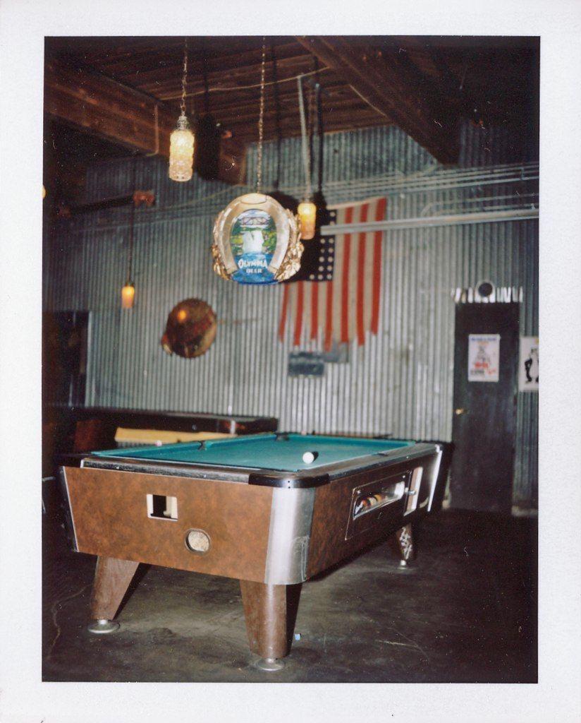 The Standard Fuji - Old school pool table