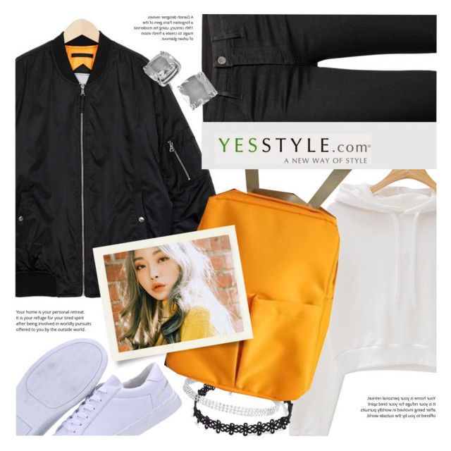 """YesStyle - 10% off coupon"" by vn1ta ❤ liked on Polyvore featuring Novo, chuu and Kate Spade"