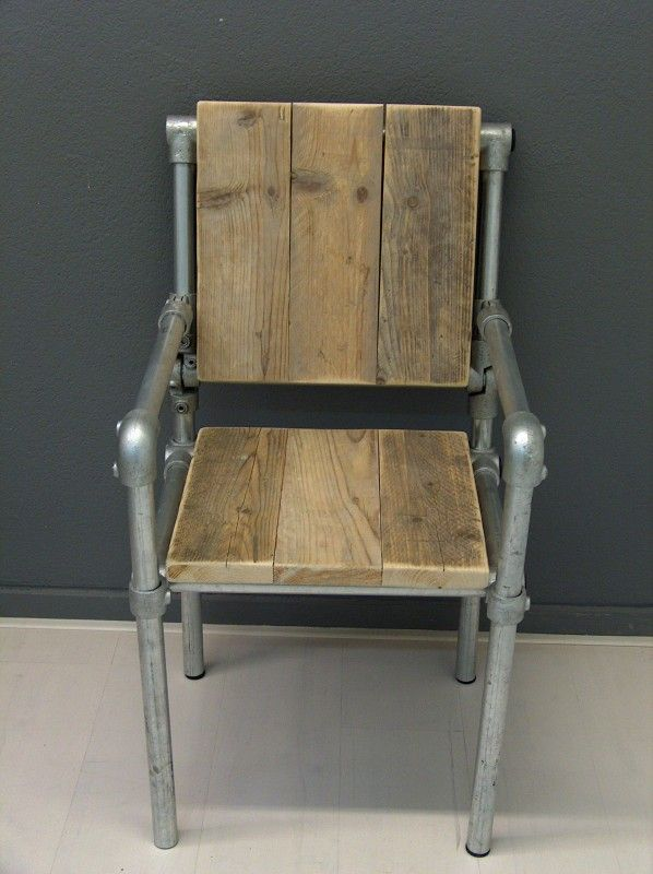 Chair Made Out Of Kee Klamp
