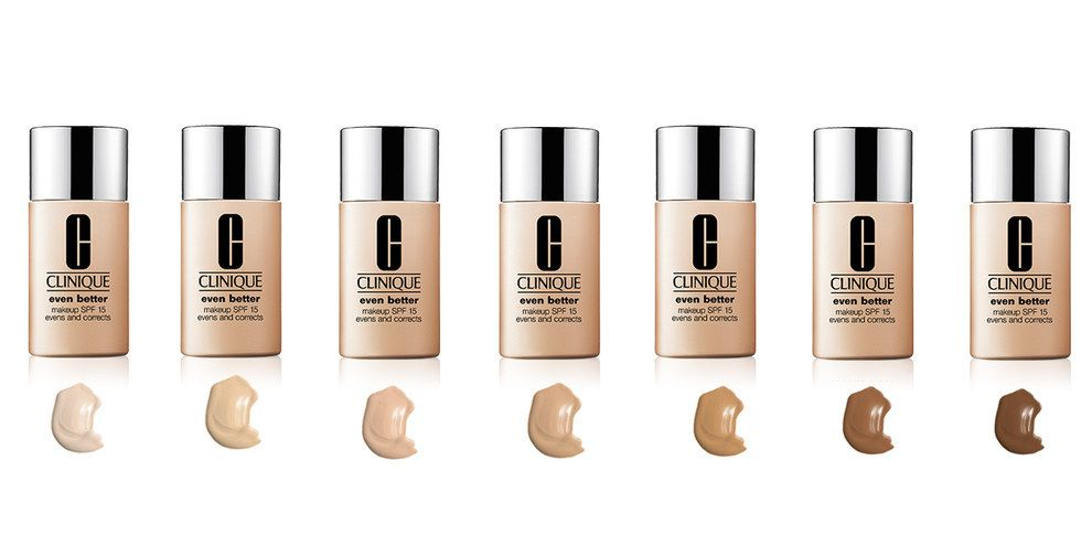 Clinique Even Better Foundation 25 14 Beauty Brands That Actually Offer A Wide Range Of Shades