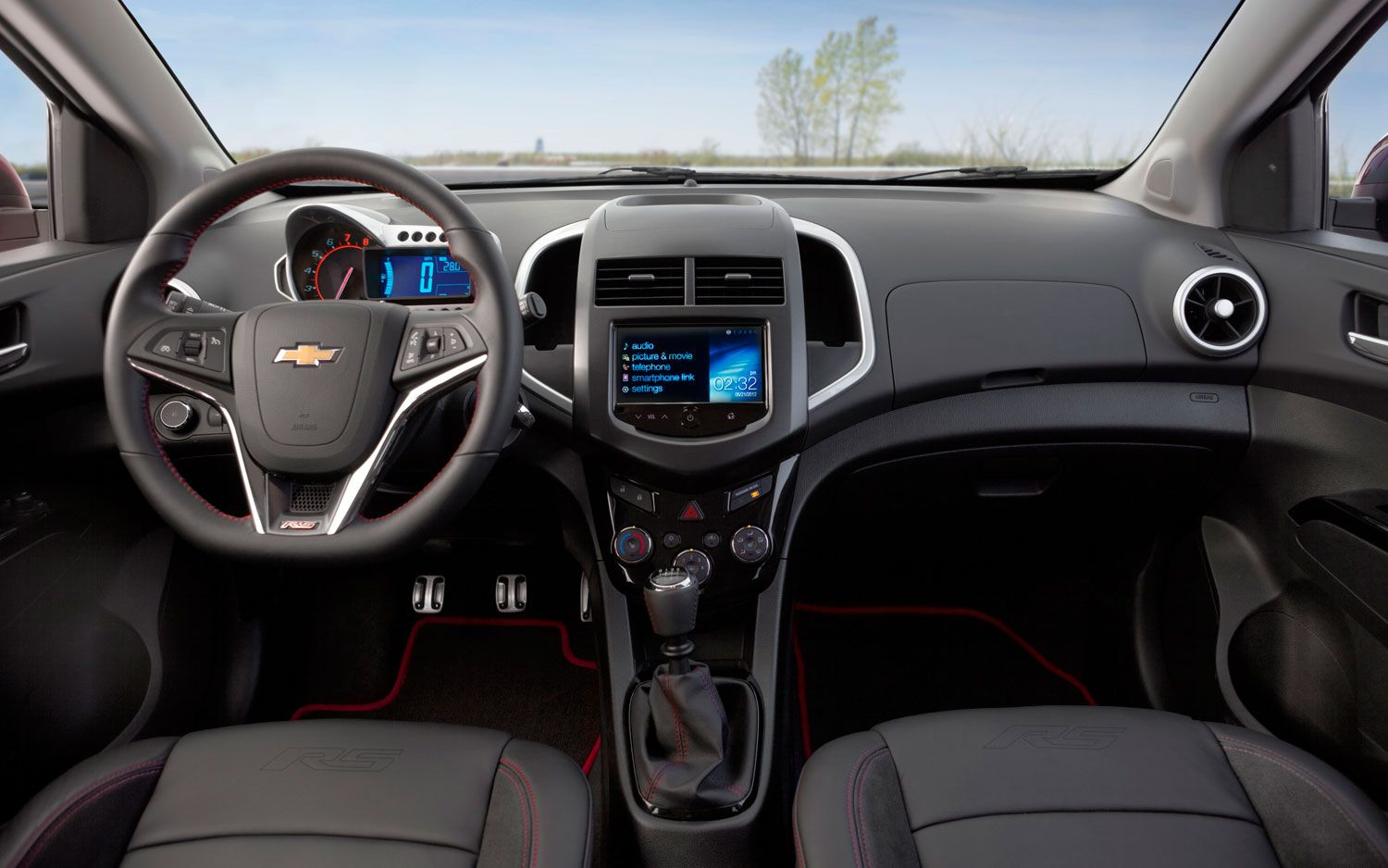 Chevy Sonic RS Interior