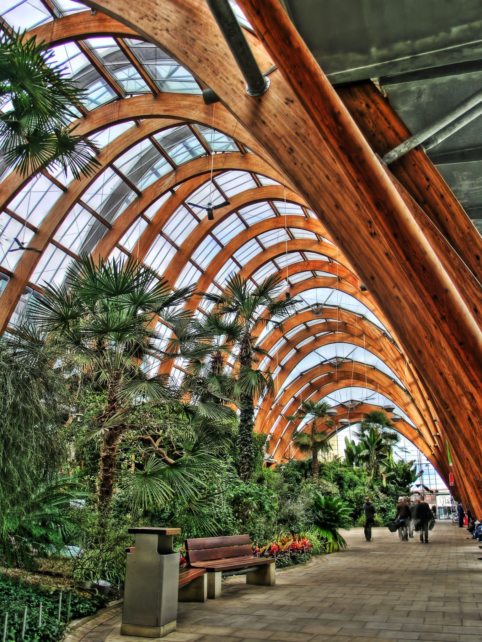 Inside The Winter Gardens Garden Architecture Public Garden