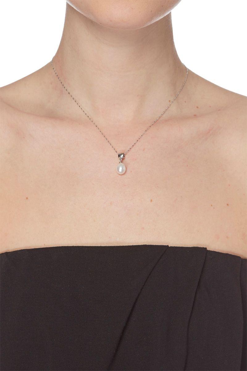 Vente MON BOUDOIR DE PERLES / 24108 / Colliers et pendentifs / Pendentifs / Pendentif Argent et perle de culture