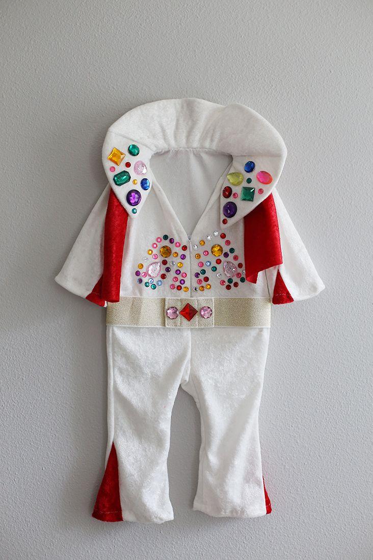DIY Baby Elvis Costume // Sew Much Ado & DIY Baby Elvis Costume | Halloween | Pinterest | Elvis costume Diy ...