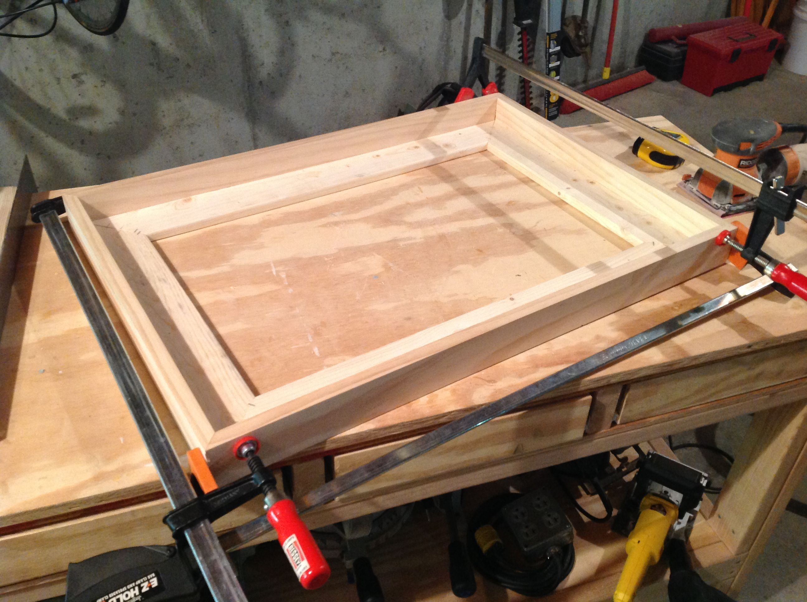 Build your own diy float frame a lesson learned diy