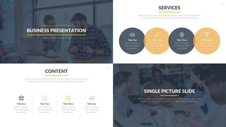 The Best Free Powerpoint Templates To Download In 2019 Graphicmama Blog Powerpoint Template Free Presentation Template Free Powerpoint Templates