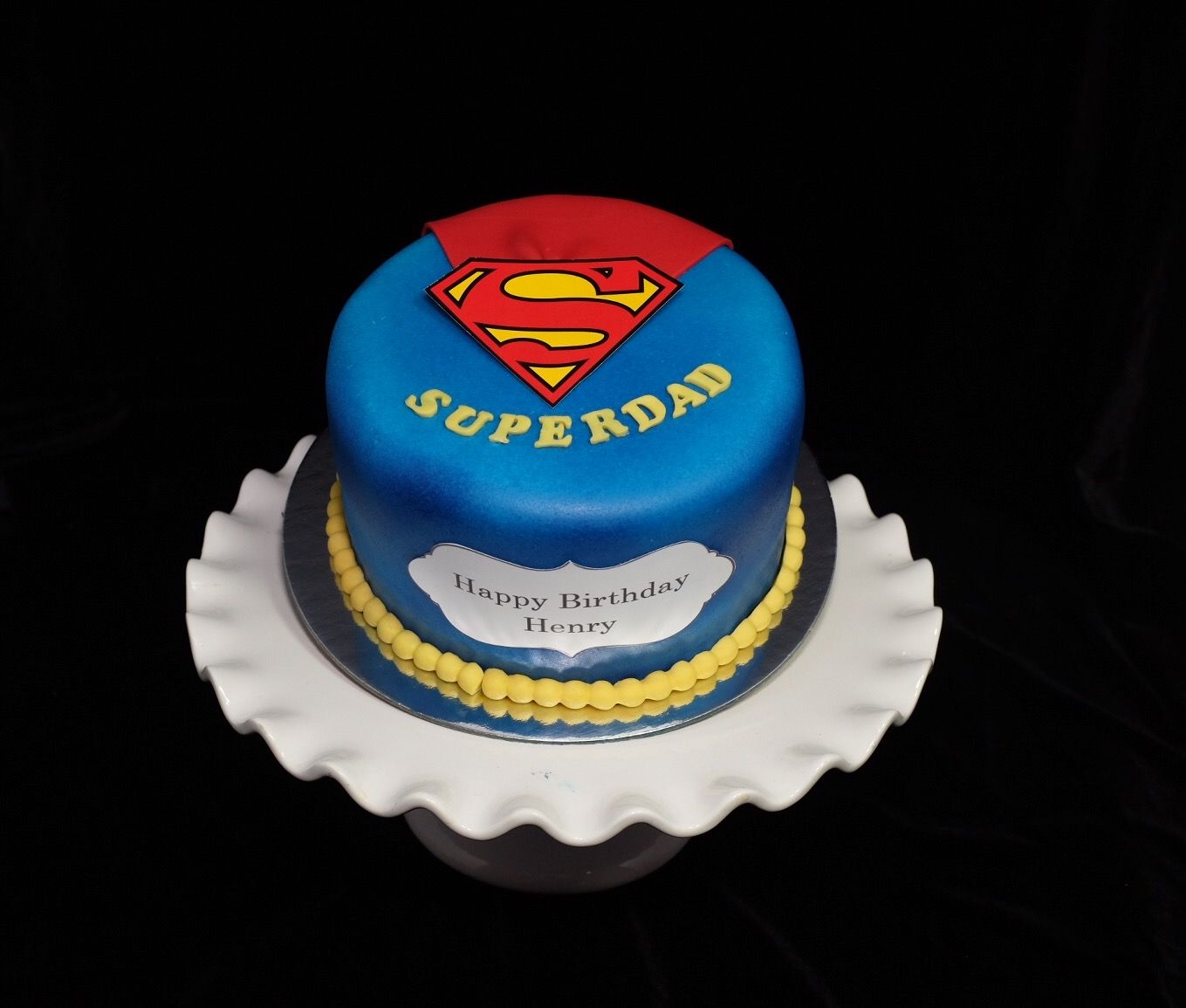 Superdad Cake Birthday For Father Cakes Food Cupcake