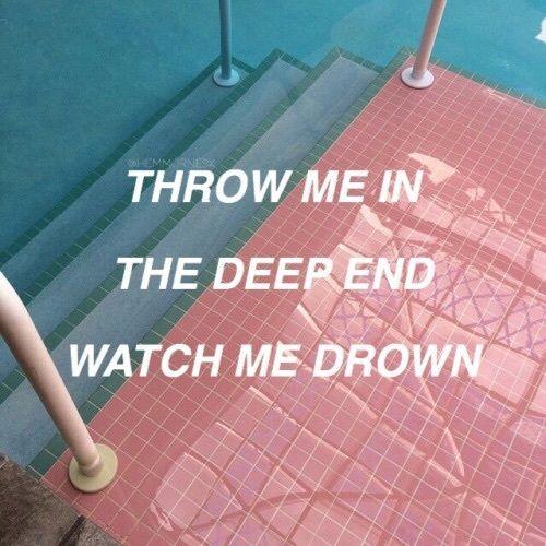 aesthetic, badlands, blue, hold me down, lyrics, pastel ...