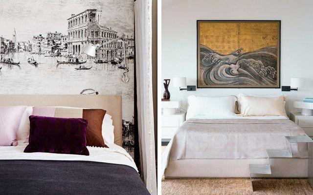 Vestir la pared del cabecero ideas para la pared del - Decoracion cabecero cama ...