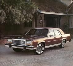 85 Ford Crown Victoria Mine Is White And A Two Door With A V8 302 Ford Ltd Ford America American Classic Cars