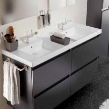 Cosmic B Box Doppel Waschtisch Mit Unterschrank Mit 4 Schubladen B 120 H Doppelwaschtisch Mit Unterschrank Doppelwaschtisch Waschtischunterschrank