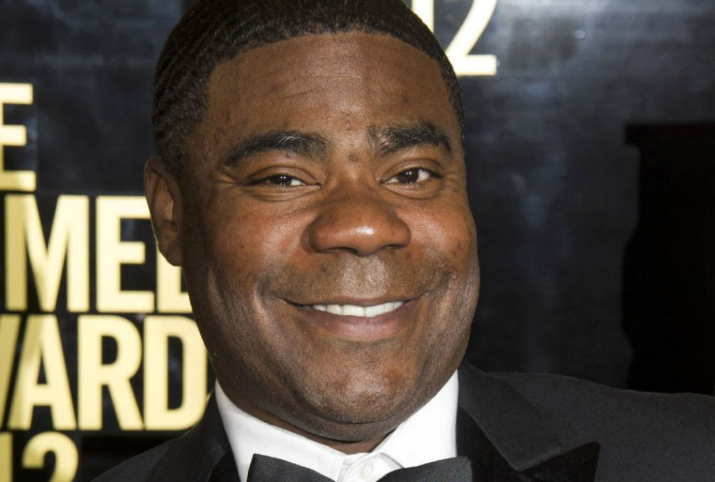 "Tracy Morgan returned to a familiar stage, hosting ""Saturday Night Live"" in his first appearance on the show since a vehicle crash that left him in a coma."