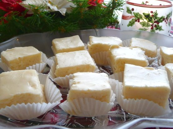 Our family favorite white fudge! White, creamy rich and oh-so-good!! I make this every year for Christmas, and give plenty away as gifts. Enjoy!