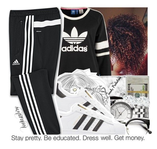 """leah143love"" by leah143love ❤ liked on Polyvore featuring adidas Originals and adidas"