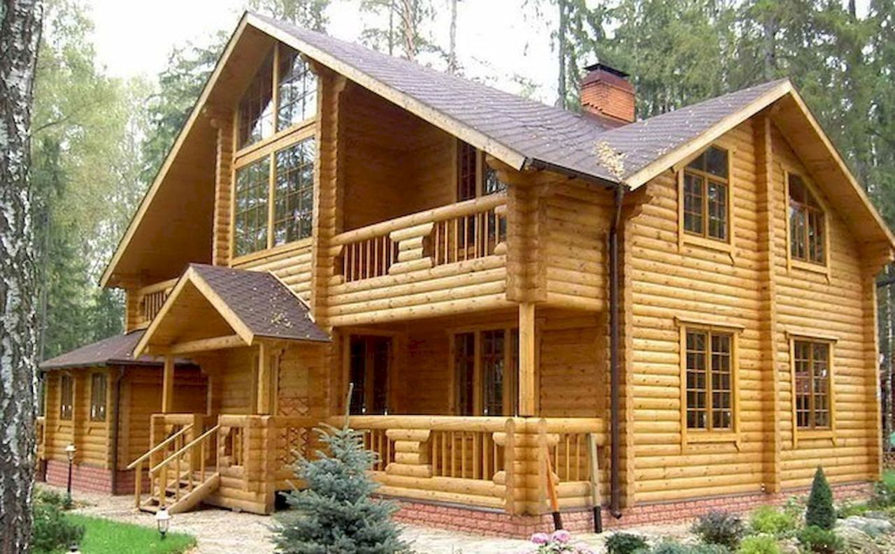 60 Rustic Log Cabin Homes Plans Design Ideas And Remodel Afshin Decor Log Homes Log Cabin Homes House Design