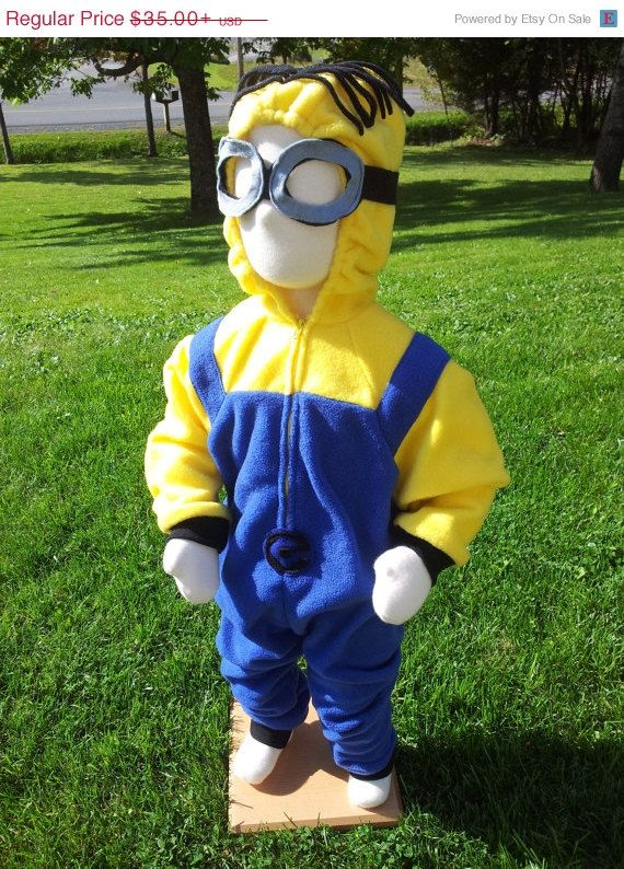 Back To School Sale Custom Minion Costume With by rcdboutique, $33.25