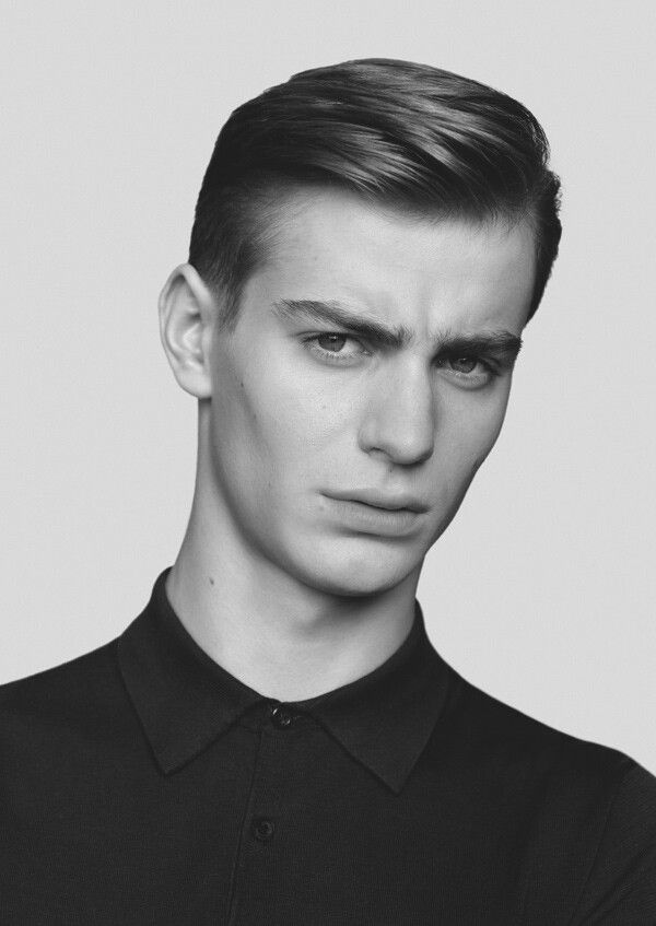Pomade Hairstyles the many variations of the slicked back hairstyle Ben Allen Fronts Cos Springsummer 2014 Campaign Slick Hairstyles Haircuts And Hair Style
