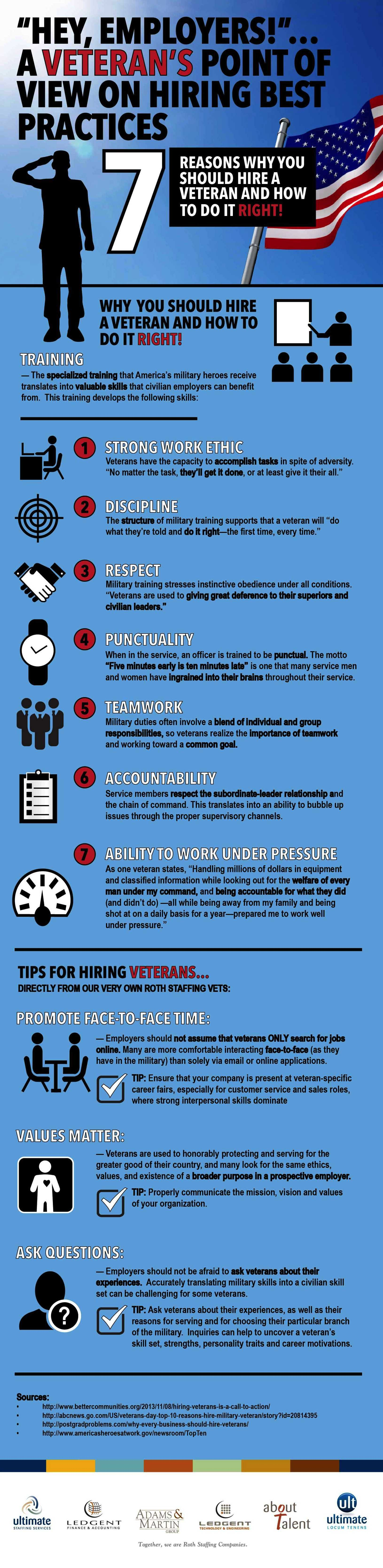 Hey Employers A Veteran S Point Of View On Best Hiring Practices