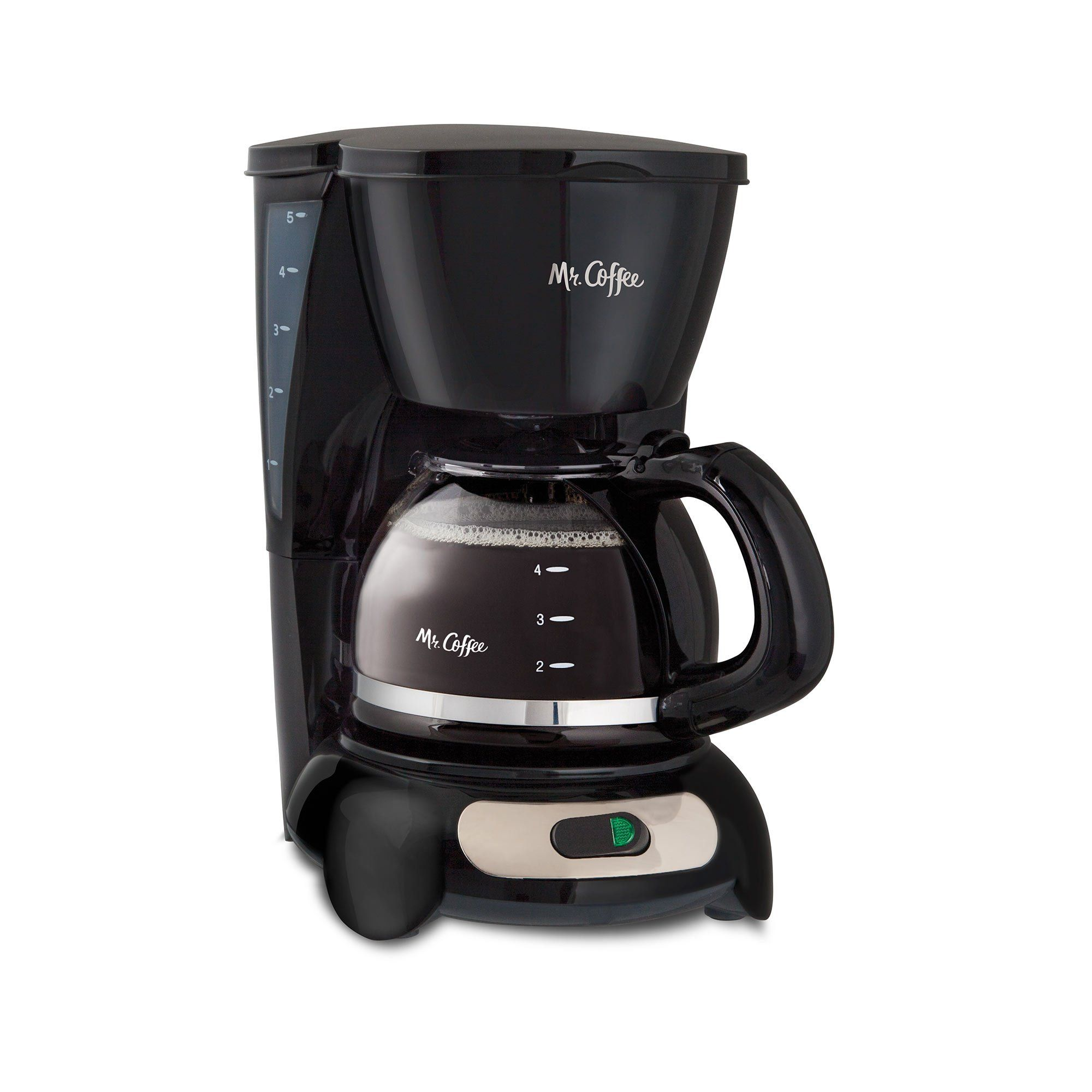 Mr. Coffee 5Cup Classic Brewing Coffee Maker for a Perfect