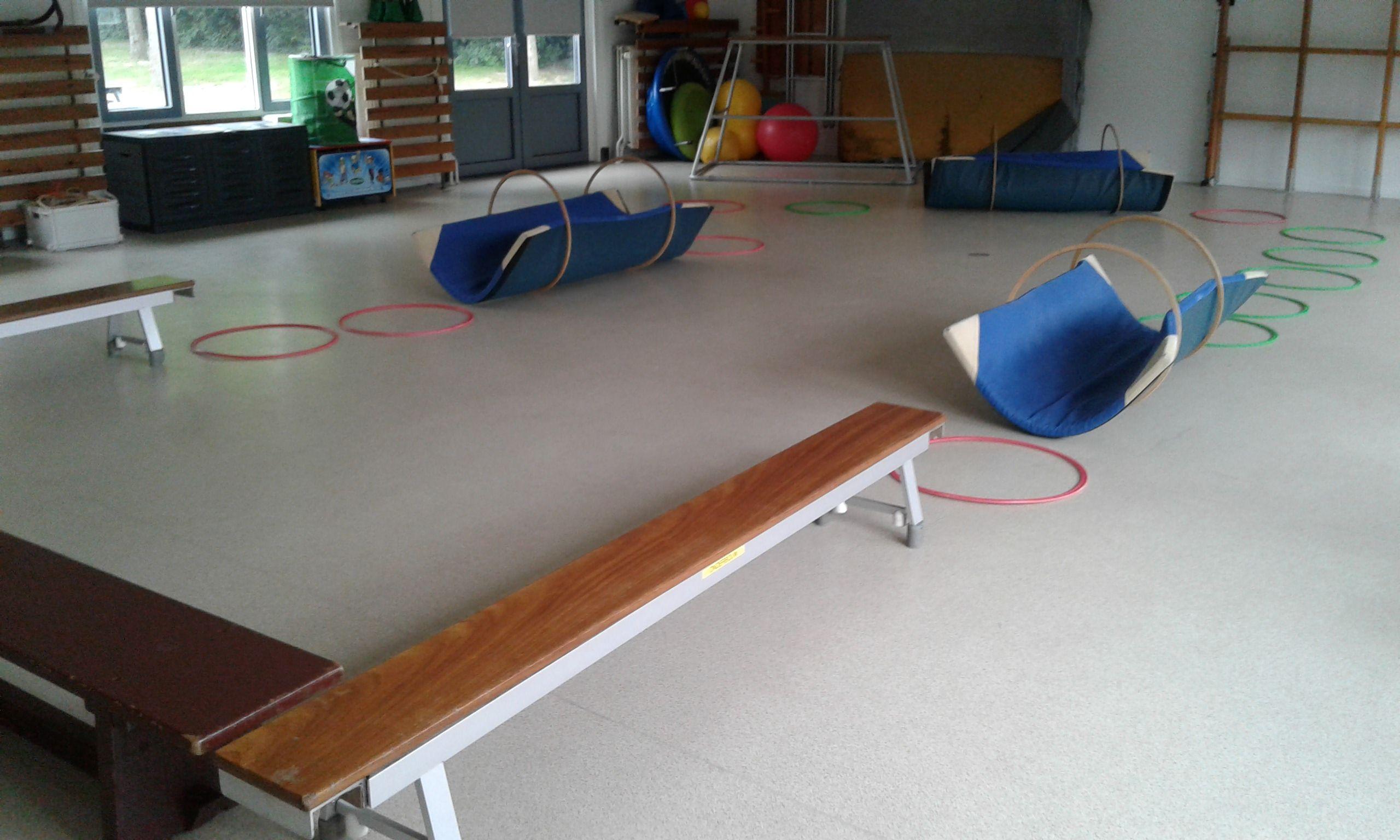 Hedendaags Gym activiteit: parcours voor peuters/kleuters. | Activiteiten ZY-68