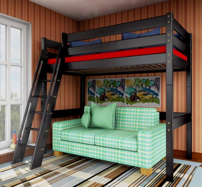 hochbett schwarz my blog. Black Bedroom Furniture Sets. Home Design Ideas