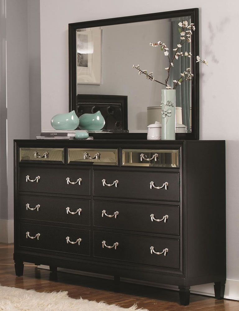 Black Bedroom Dressers Impressive With Images Of Black Bedroom ...