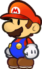 Nintendo S Been Re Using The Same Sprite For Paper Mario For 16 Years Paper Mario Mario Tattoo Mario Bros