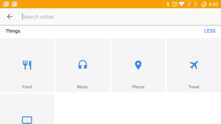 Google Keep ora ordina le note per categorie - http://www.tecnoandroid.it/google-keep-ora-ordina-le-note-categorie/ - Tecnologia - Android