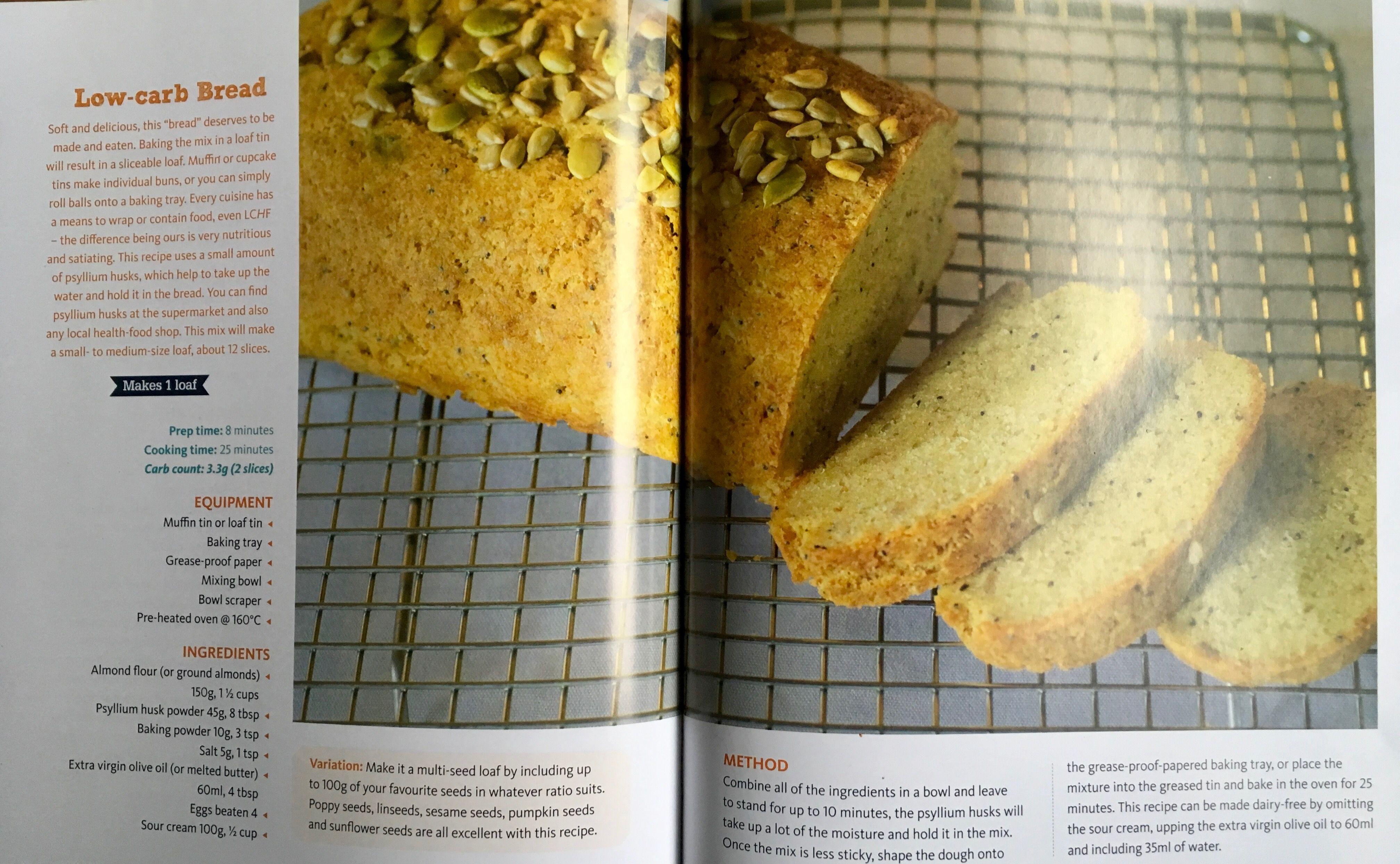 Low carb almond bread | Almond bread, Low carb bread, Low carb