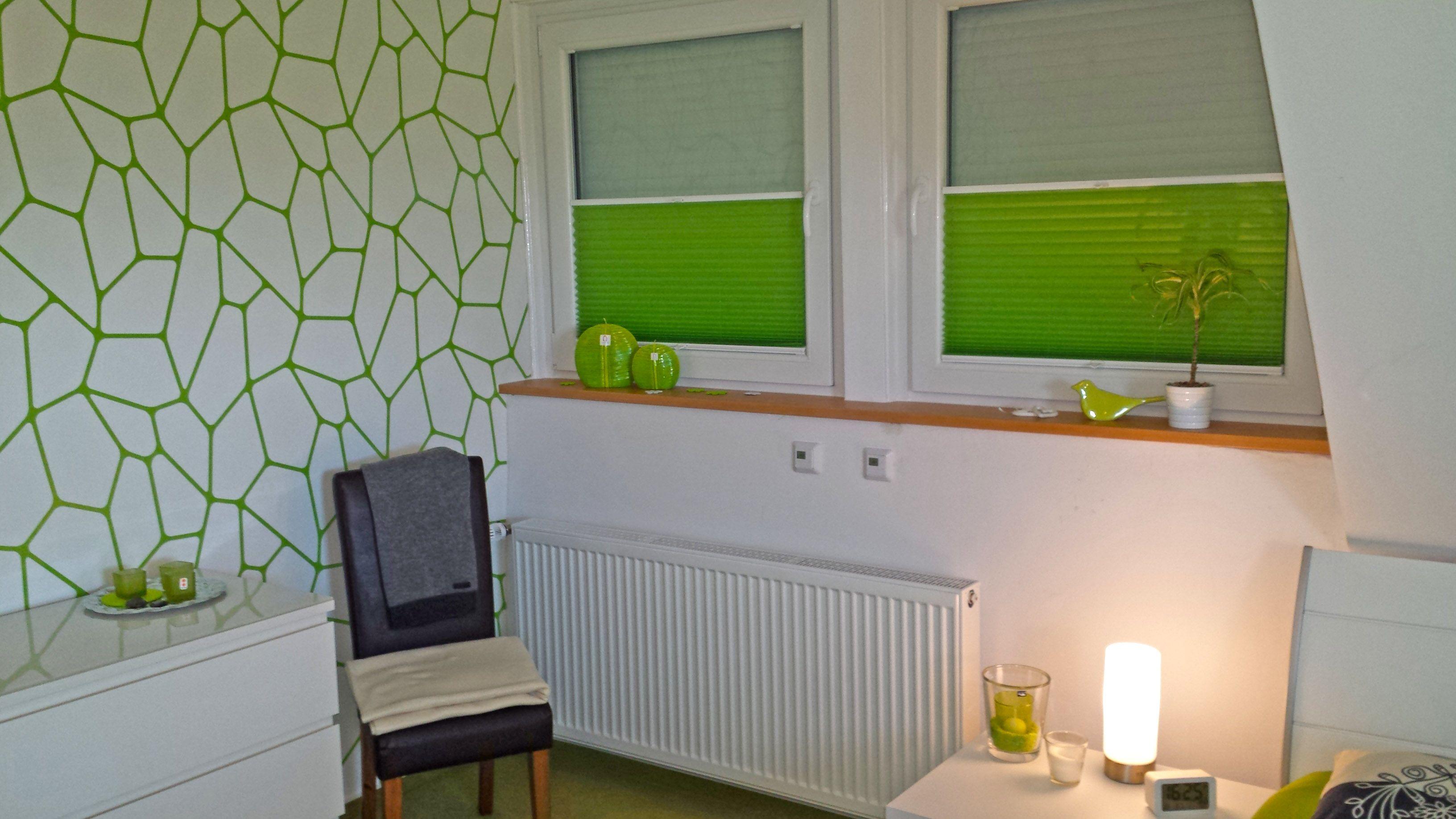 Plissee Schlafzimmer ~ Deko #plissee #grünfan #schlafzimmer unsere produkte sind