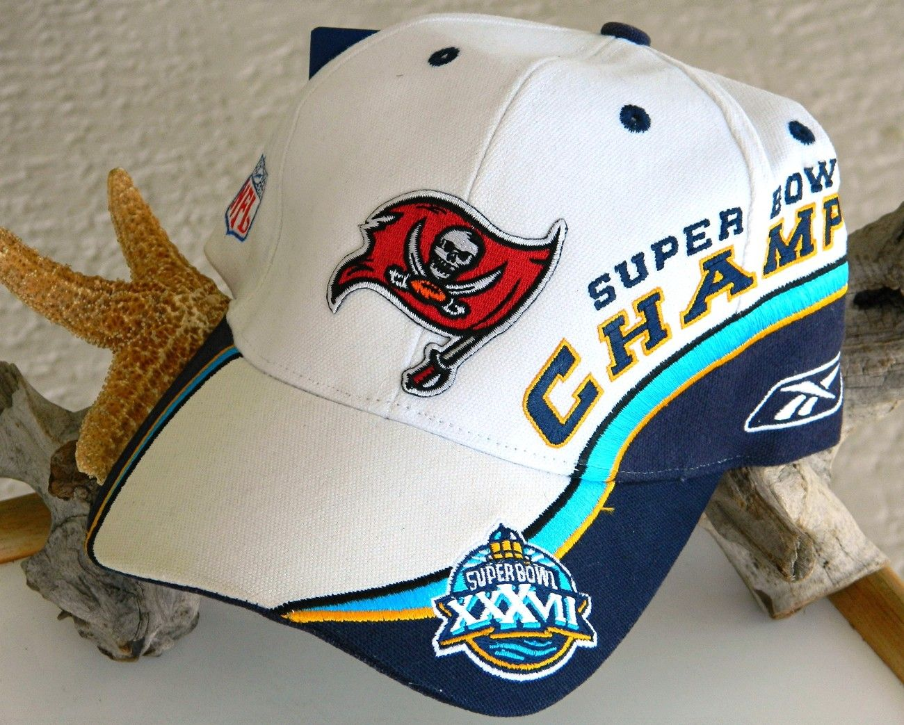 aed7462a Super Bowl XXXVII NFL Cap Tampa Bay Buccaneers Champ New Tag $37.95 ...