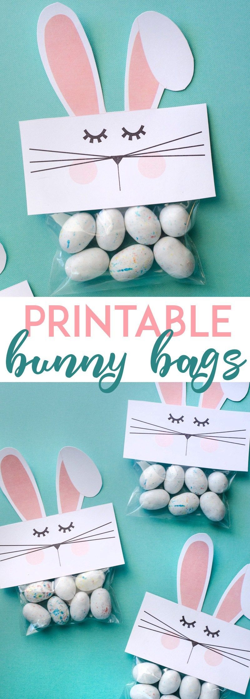 Free PRINTABLE Bunny Bags by Lindi Haws of Love The Day