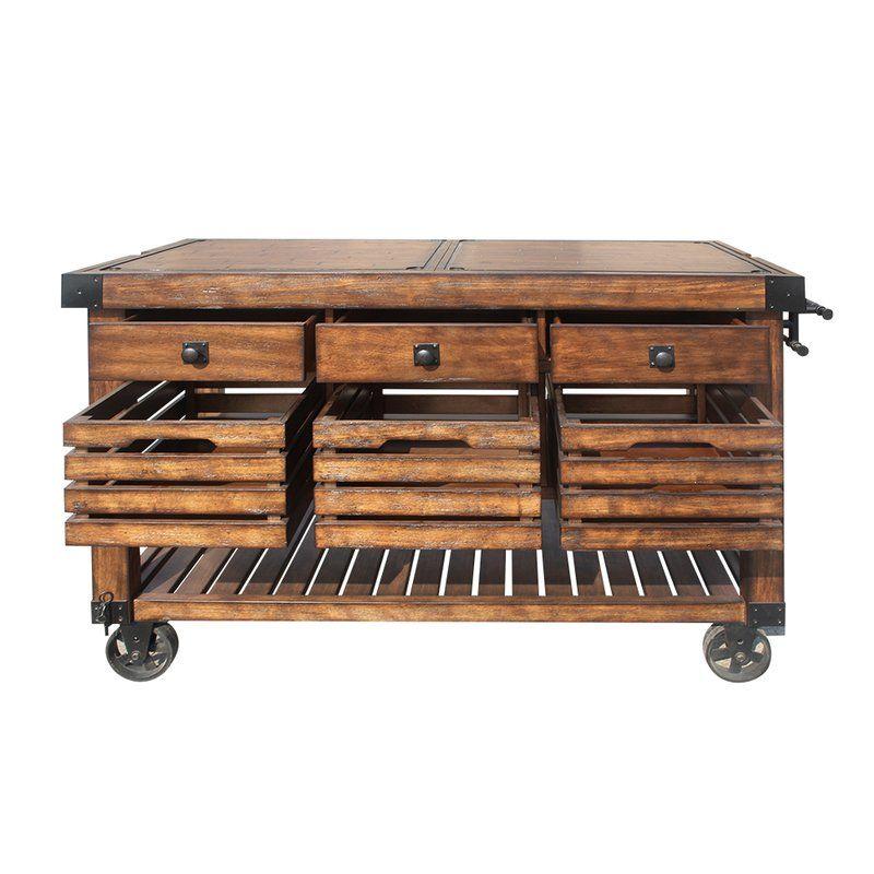 Lydd Kitchen Cart Kitchen Cart Rolling Kitchen Island Acme